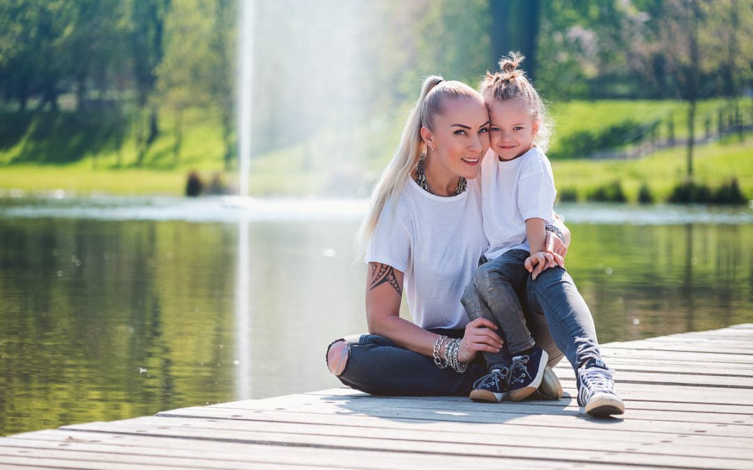 Oliver s maminkou ve Stromovce