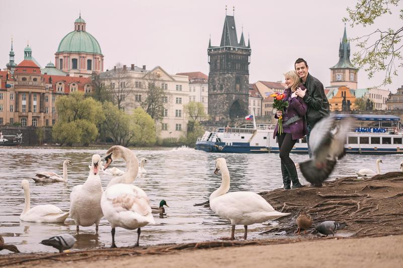 Procházka podél Vltavy